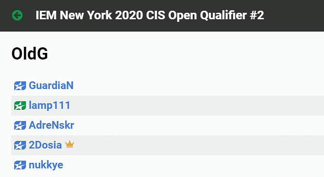 GuardiaN, Dosia, and AdreN Team Up for IEM New York Open Qualifier 2