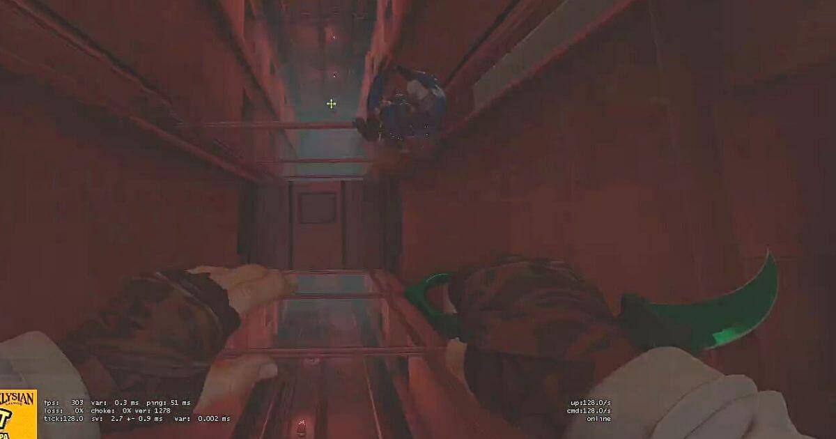 [Watch] Tarik Takes an Insane Knife Kill While Falling Down on Vertigo