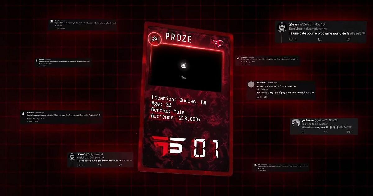FaZe Clan Announces The First Three Faze5 Winners