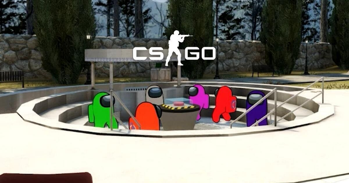 New CS:GO Map Allows Users to Play Among Us, Available in Steam Workshop