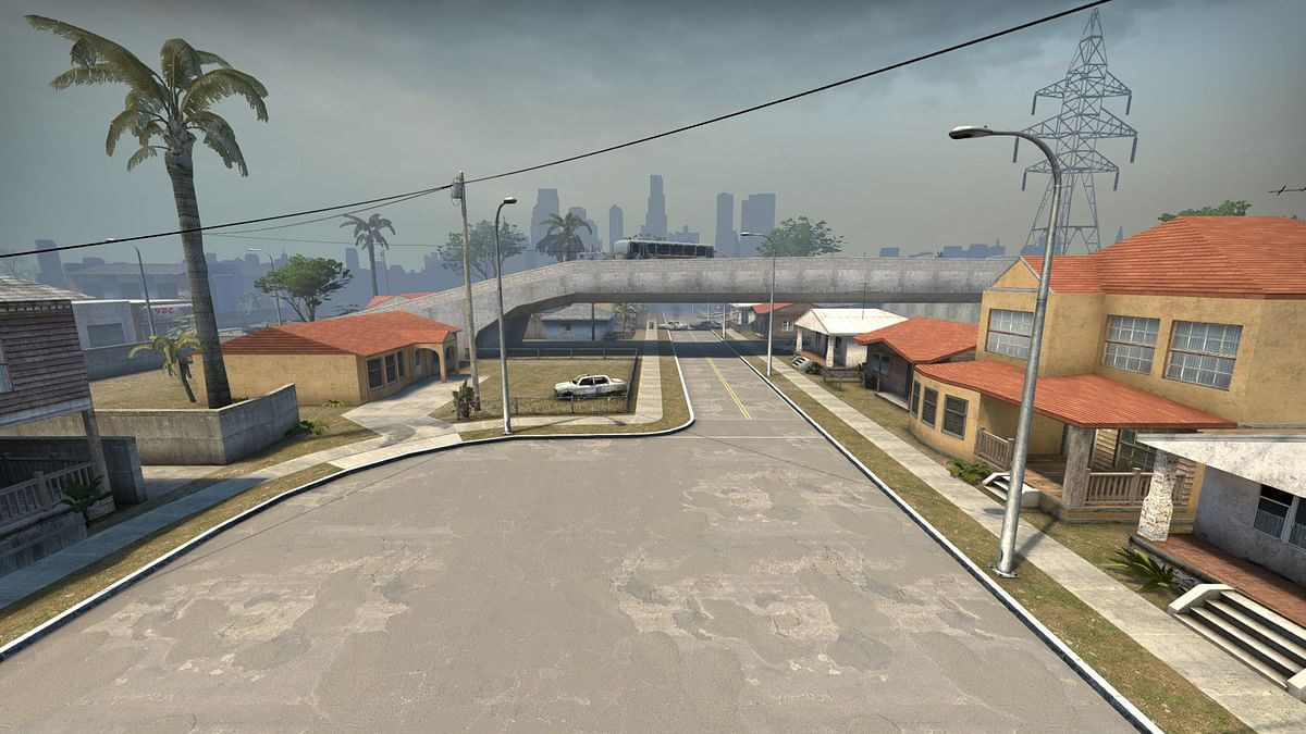 Iconic Grove Street From GTA: San Andreas Recreated as a CS:GO Map