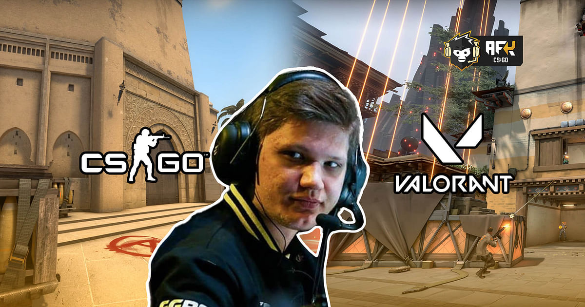 CS:GO Star Player S1mple Talks About Switching to Valorant