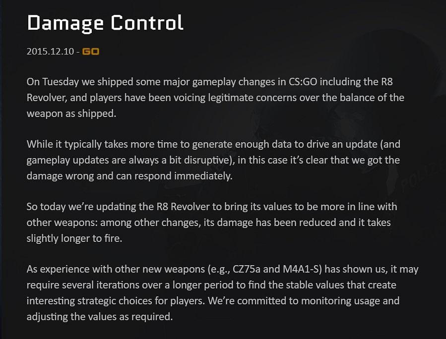Top 5 Most Controversial CS:GO Updates