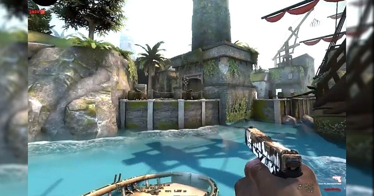 [Watch] CS:GO User Finds a Way to Jump On-Board a Boat on Mutiny