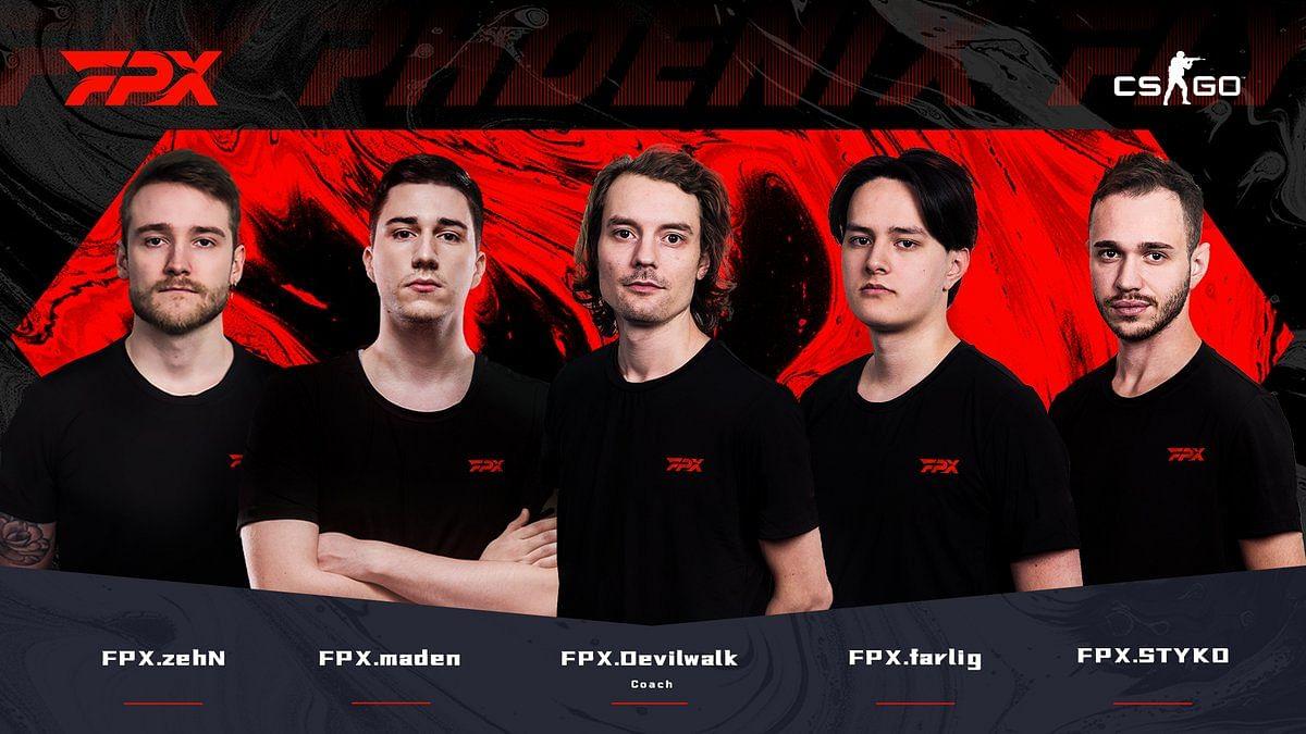 FunPlus Phoenix Returns to CS:GO With Former GODSENT Lineup