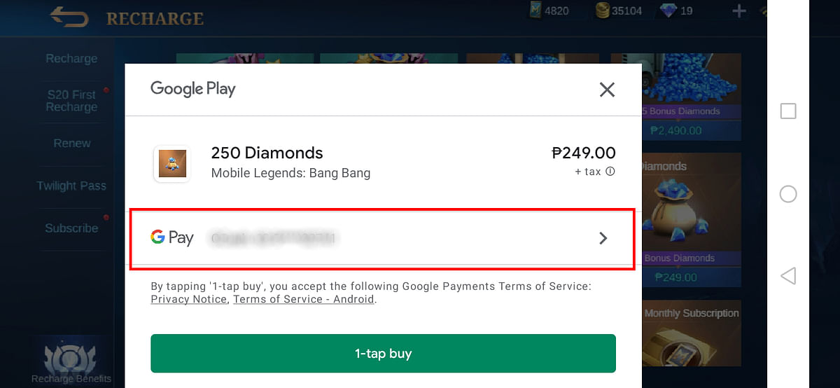 How to Buy ML Diamonds in the Philippines Using Load