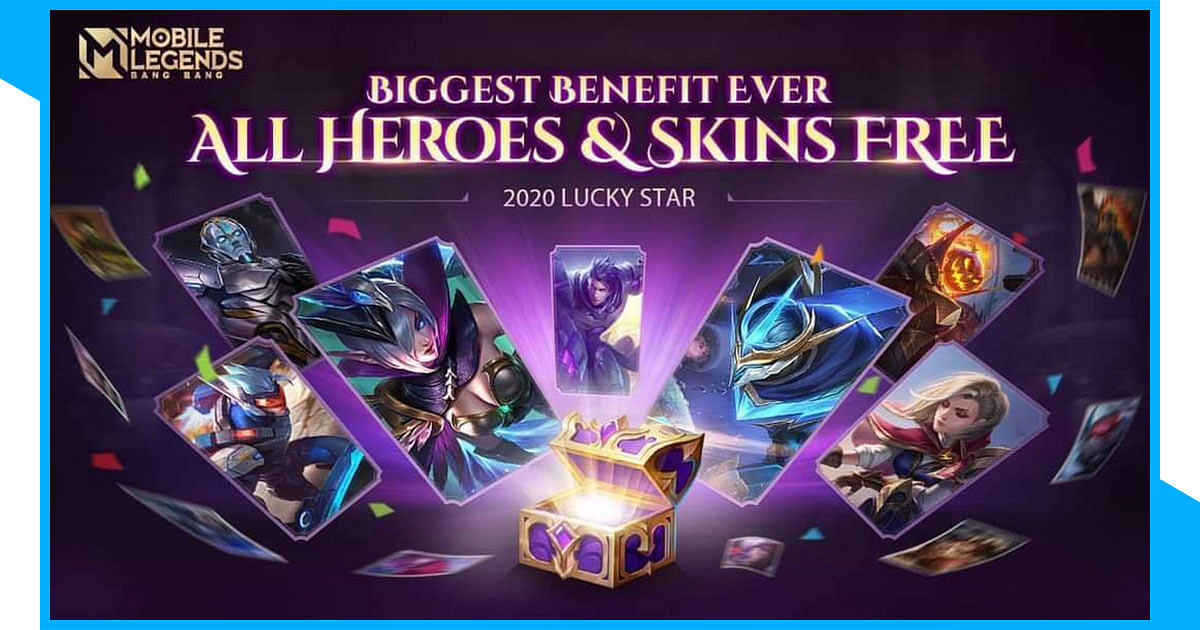 MLBB Lucky Star Event: Chance to Own All Skins and  Heroes