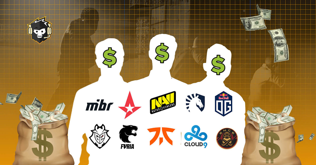 Top 10 CS:GO Players Who Won The Most Prize Money in 2020