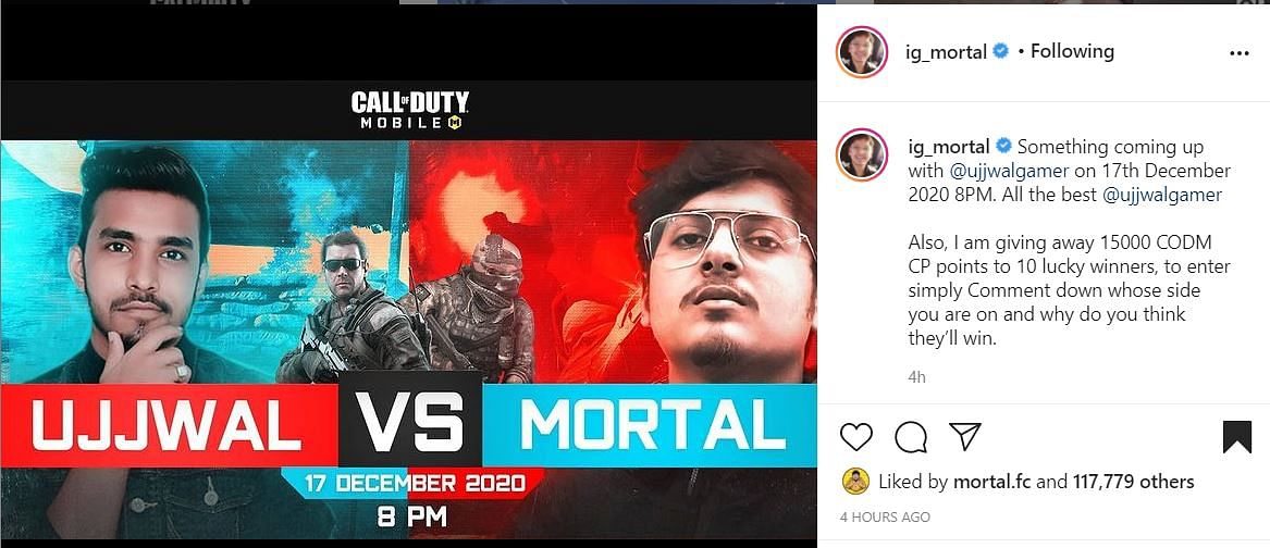 MortaL To Take On Techno Gamerz In Call Of Duty: Mobile