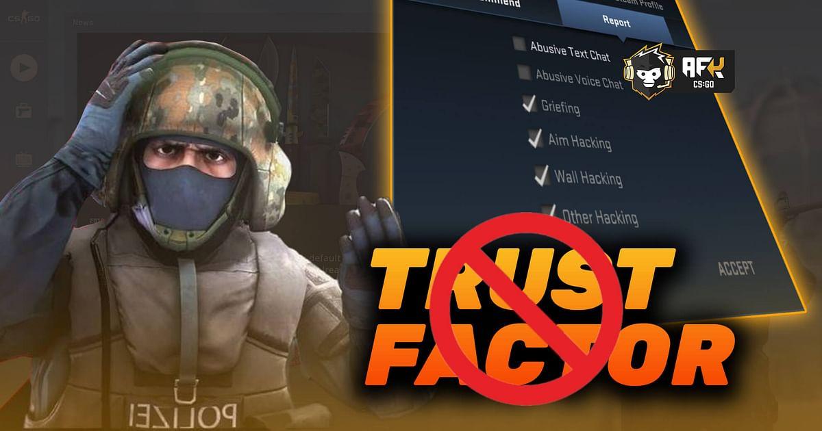 CS:GO Community Slams Valve as 'Trust Factor' Fix Does Not Stop Cheaters