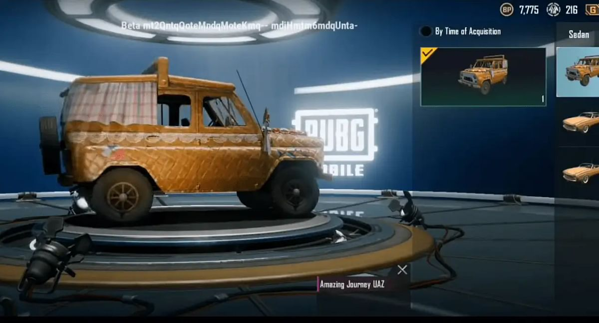 Battlegrounds Mobile India Confirms Addition of UAZ Off-Road Vehicle