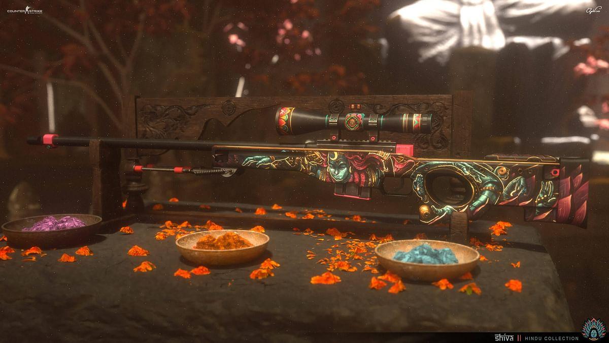 CS:GO Artist Creates Gun Skins Based on Hindu Mythology