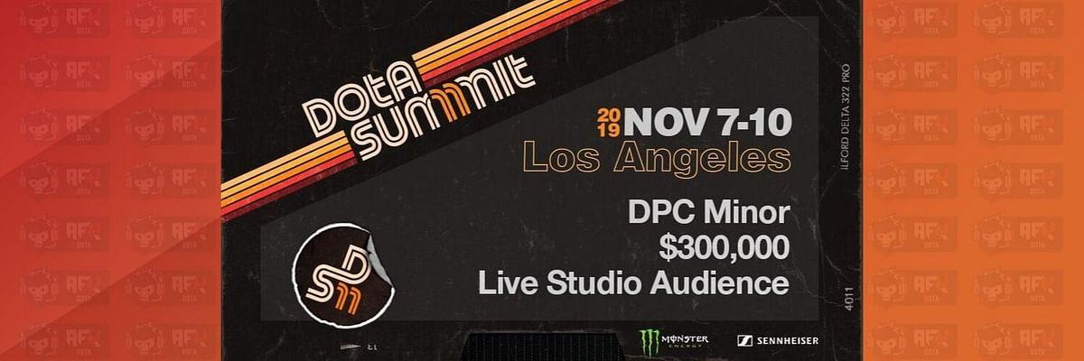 Dota Summit 11 is the First Minor of the New DPC Season