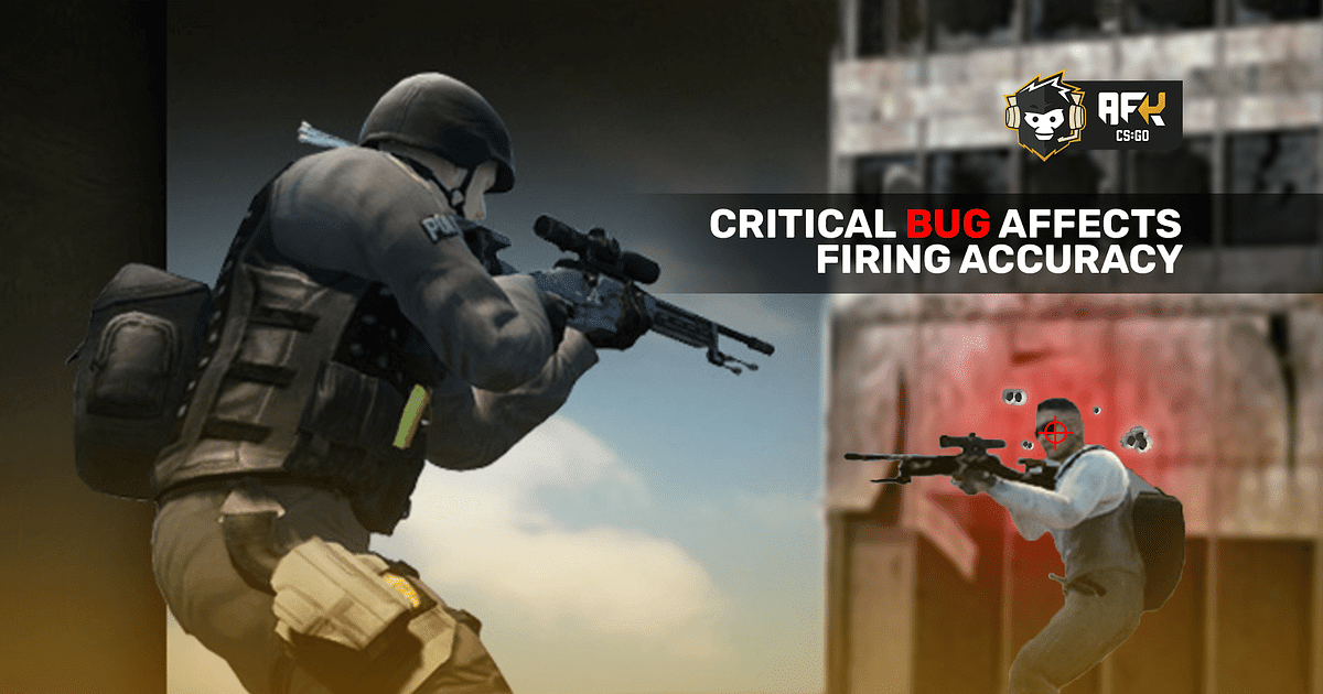 Critical CS:GO Bug Affects Bullet Accuracy While Crouching