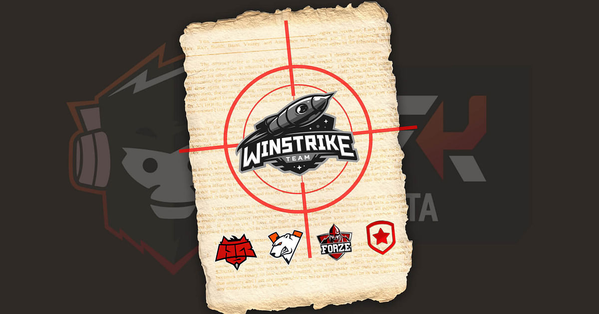 CIS Org Winstrike Accused of Fraud by Virtus.Pro, Gambit Esports, HellRaisers and forZe