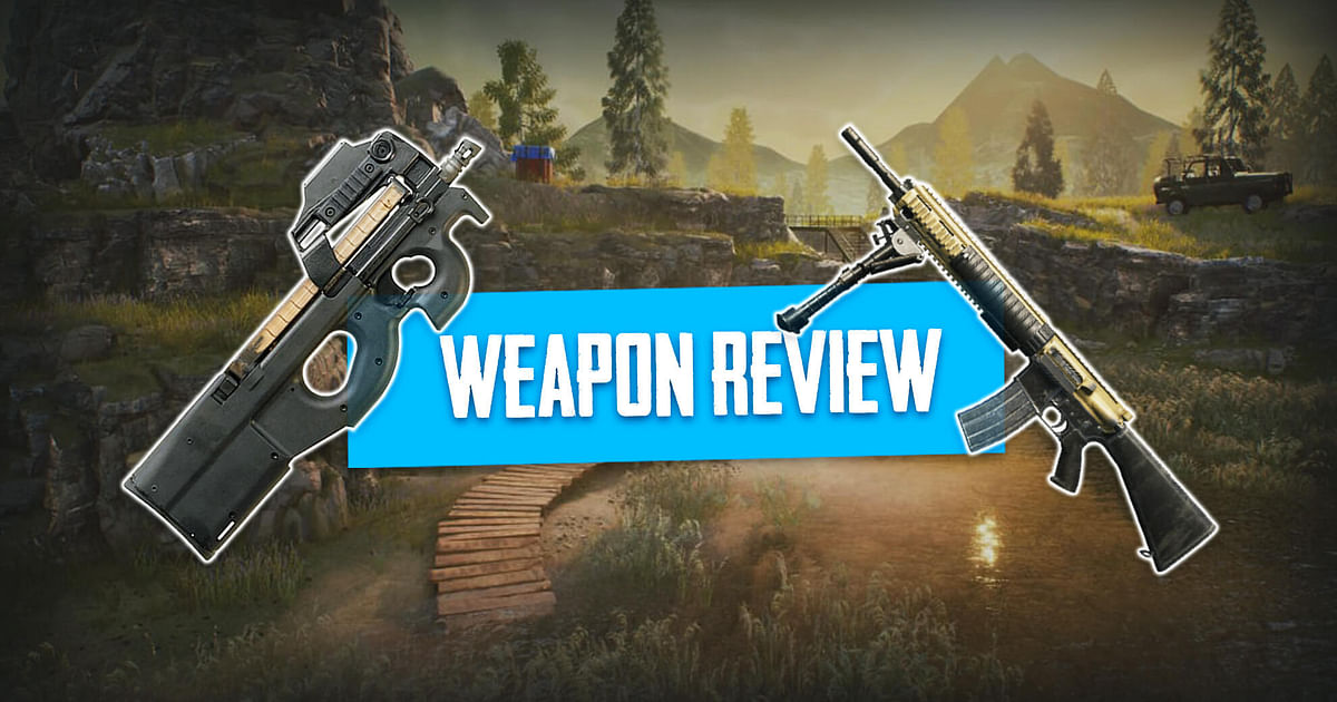 P90 and MK12 Review - PUBG Mobile