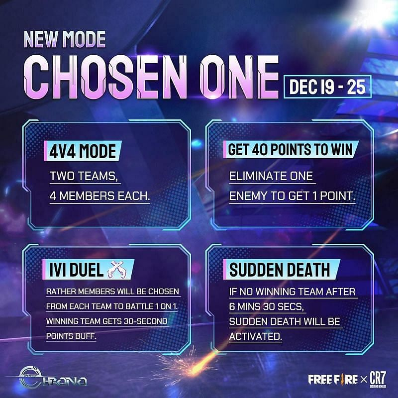 How To Play The New Chosen One Game Mode in Free Fire