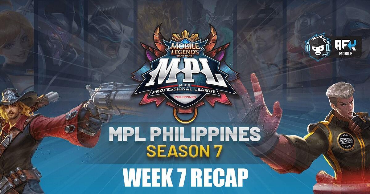 MPL PH Season 7 Week 7 Recap
