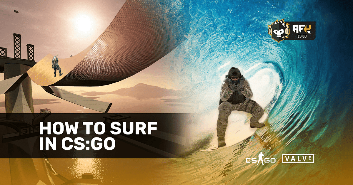 How to Surf in CS:GO - Maps, Servers, Tips