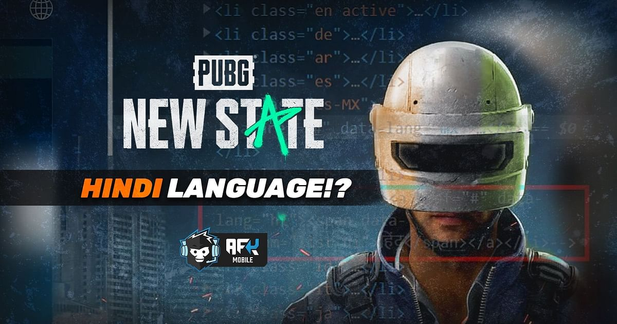 PUBG New State: Hindi Version of Official Website Found Disabled