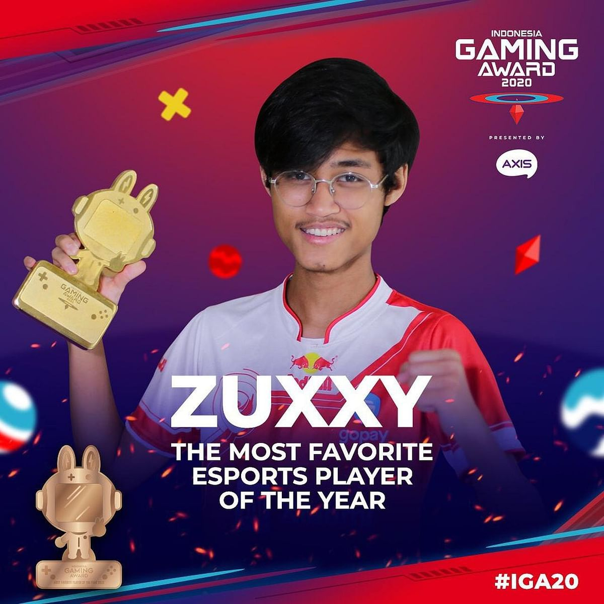 PUBG Mobile and BTR Zuxxy Won Awards at the Indonesia Gaming Award 2020