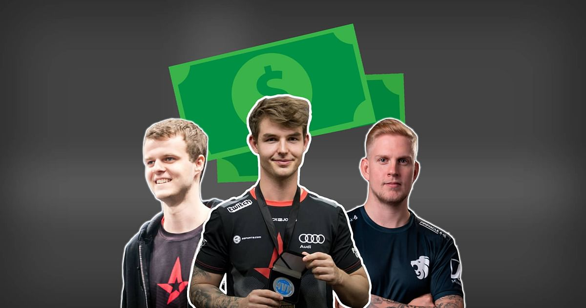 Annual Salaries of Danish CS:GO Players Reportedly Revealed