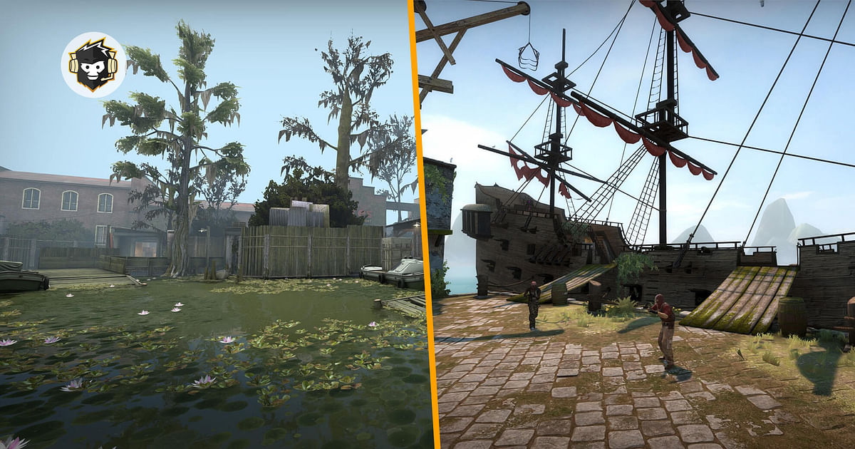 CS:GO Update Adds New Maps Mutiny and Swamp, Fixes Decoy and More