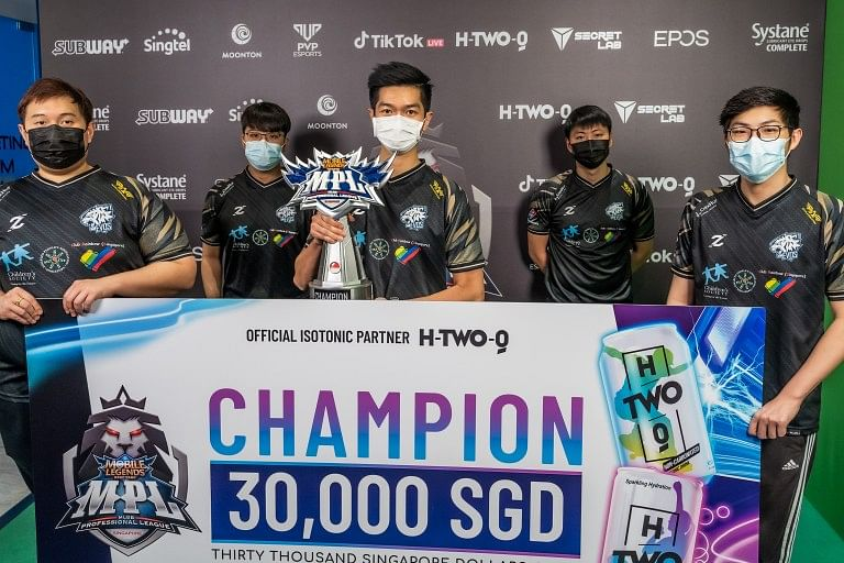 Evos SG Wins the MPL Singapore (SG) Season 1