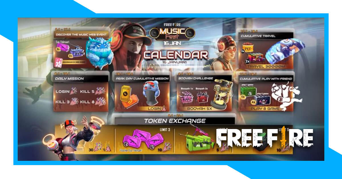 Free Fire: How to Obtain the Stereo Blaster Bundle For Free