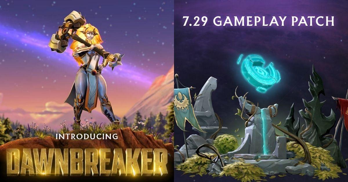 Dota 2 Patch 7.29 and New Hero Dawnbreaker Announced