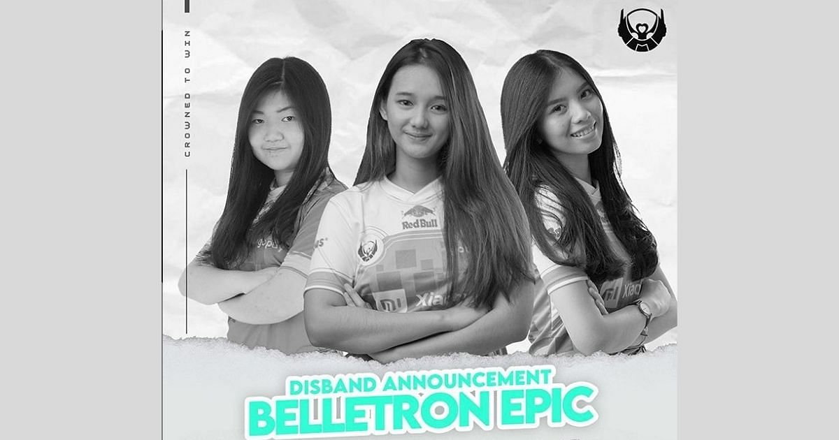 Belletron EPIC, One Of Bigetron's All-Woman PUBG Mobile Squads Disbands