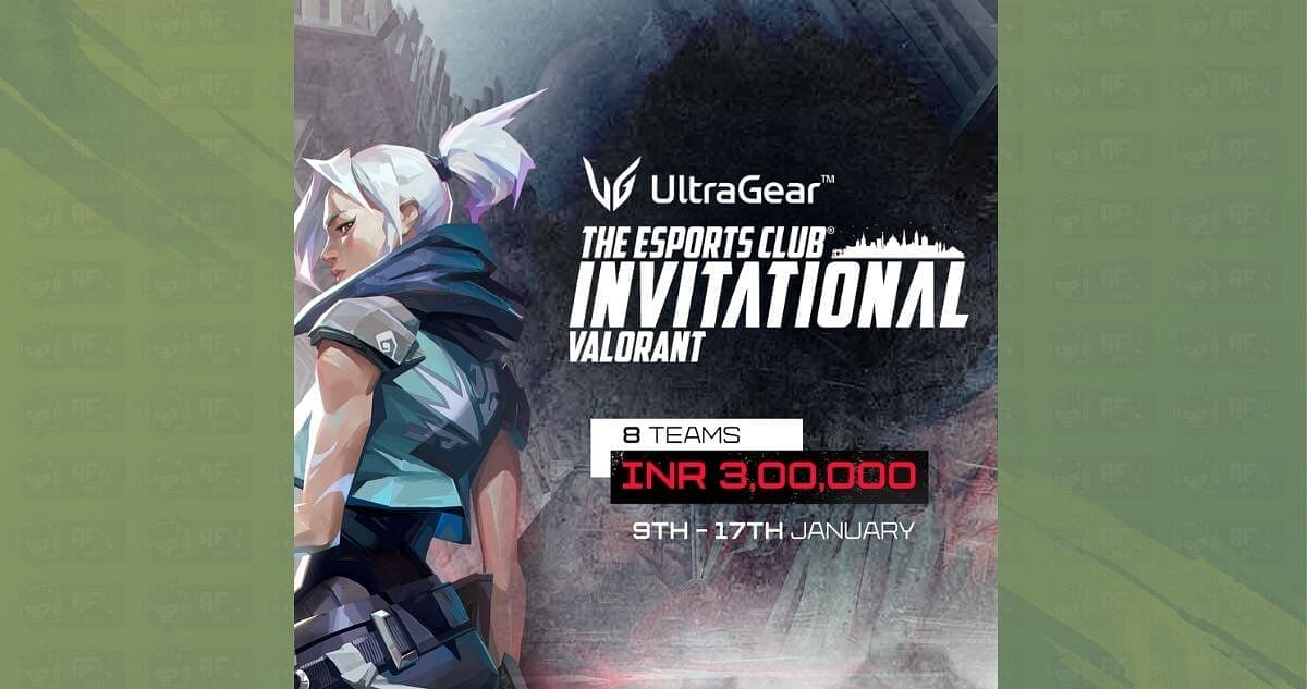 The Esports Club Announces LG Ultragear TEC Invitational for Valorant with INR 3 Lakhs Prize Pool