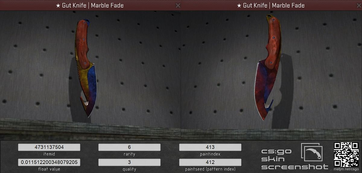 The Complete CS:GO Fire and Ice Guide - Ultra Rare Knife Skin Patterns