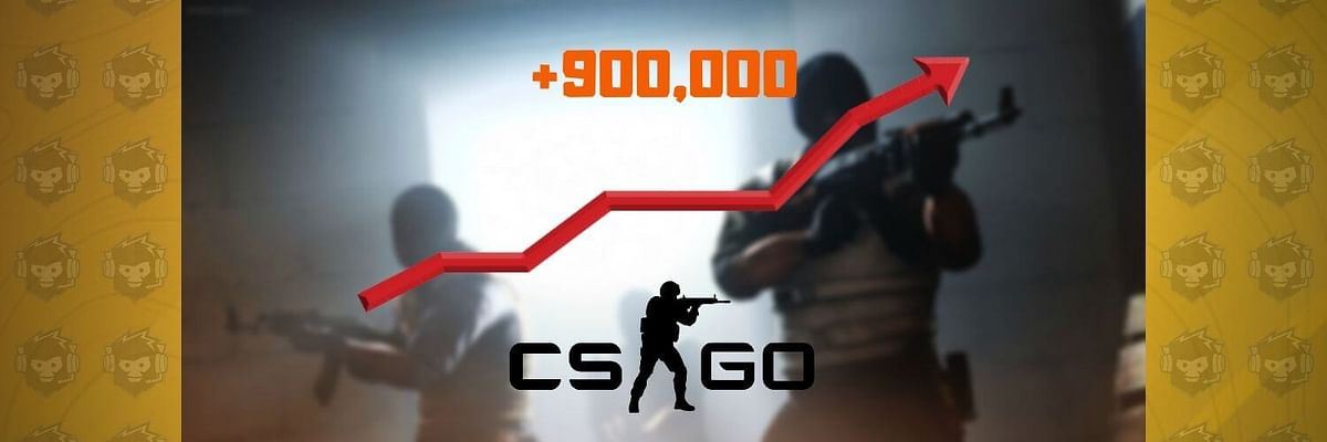 CS:GO Breaks the Record for both Average and Peak Concurrent Players