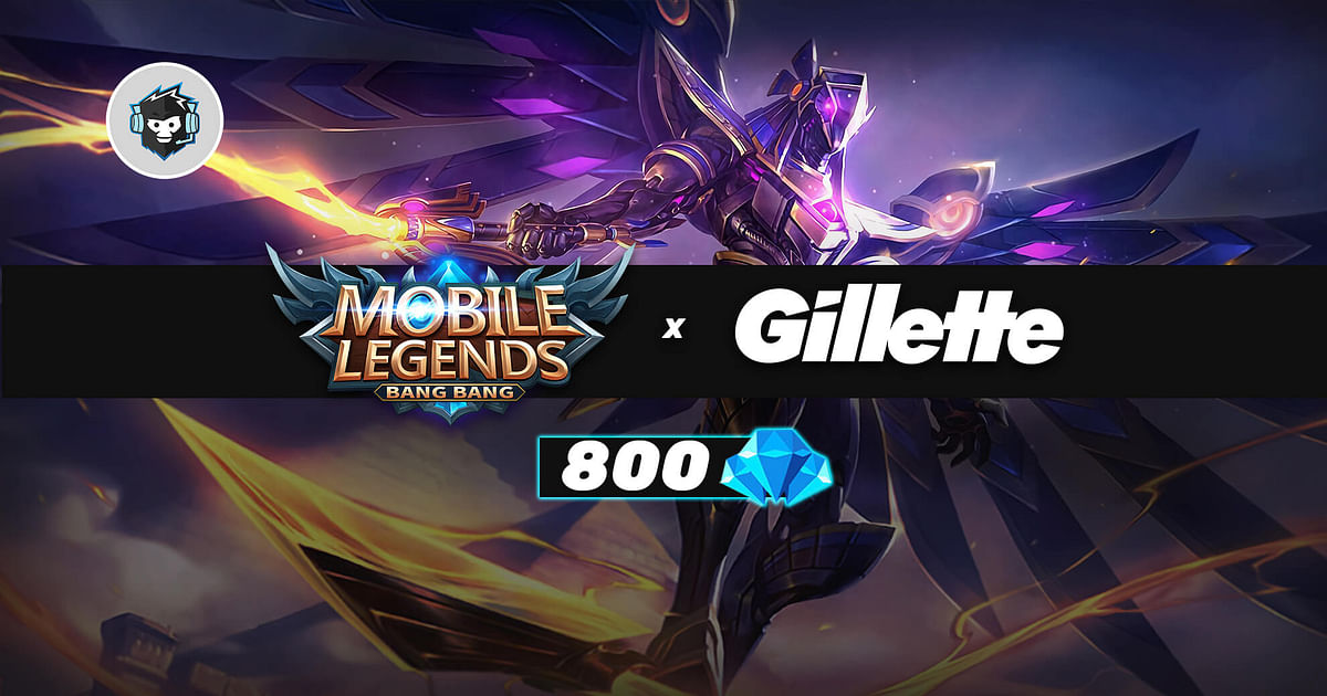 How to Get 800 Free Diamonds With MLBB x Gillette Promo