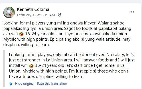 Flysolo Retires From Dota 2 for Mobile Legends, Wants to Sell His Dota 2 Account