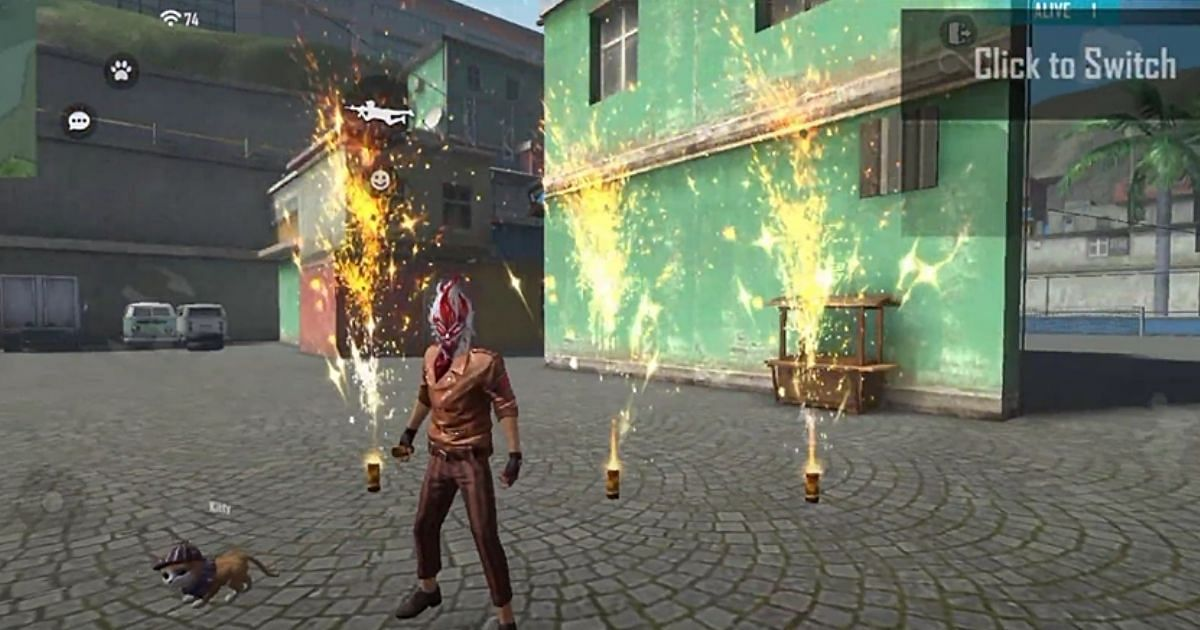 How To Unlock Fireworks In Free Fire Training Ground