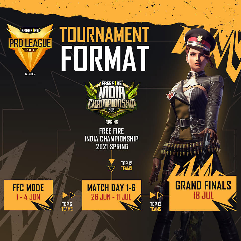 Free Fire Pro League Summer 2021: How to Register for FFC Mode, Teams, Schedule, More