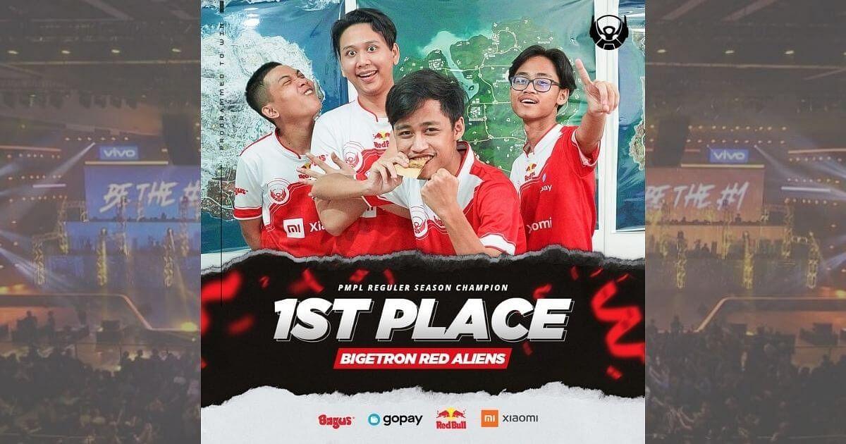 Bigetron Win PMPL Indonesia Season 2 League Stage