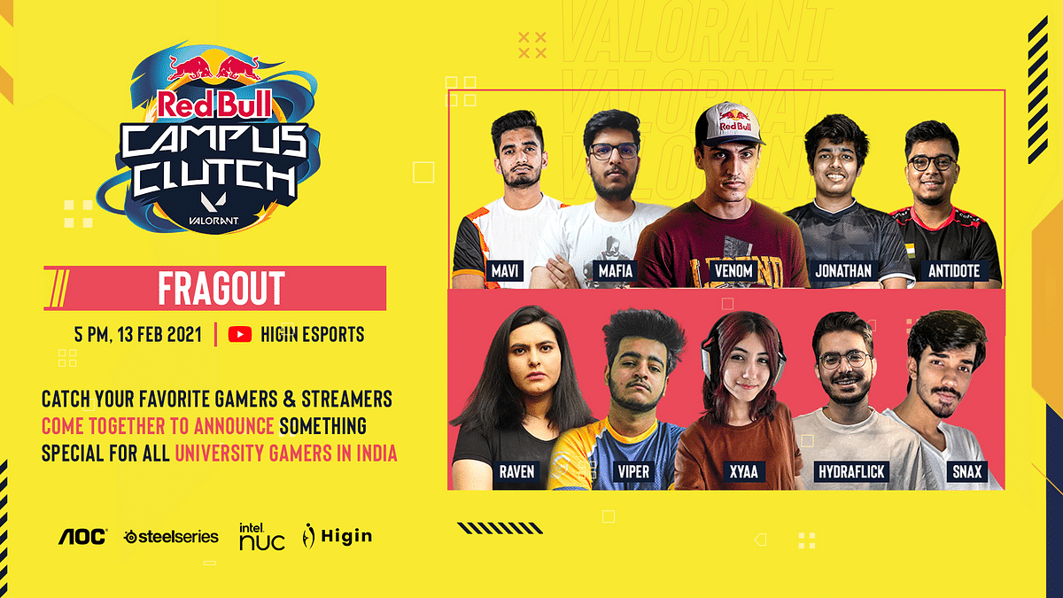 $24,000 Red Bull Campus Clutch Valorant Event Comes to India on 20th February