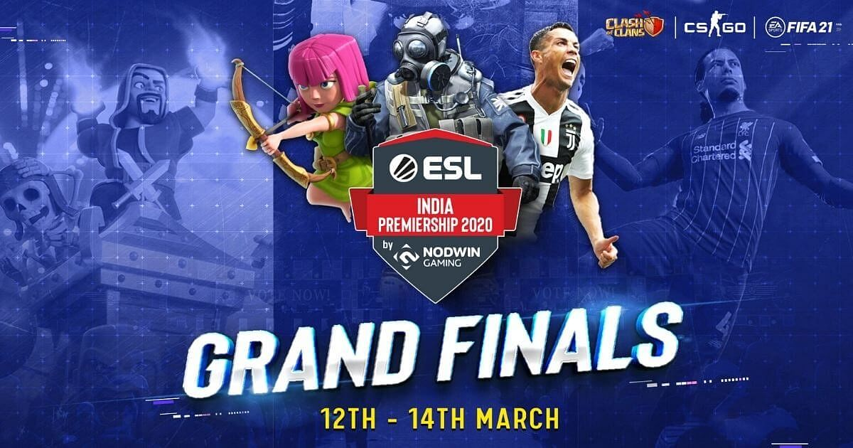 ESL India Premiership: Winter Season 2020 - Grand Finale to Take Place This Weekend