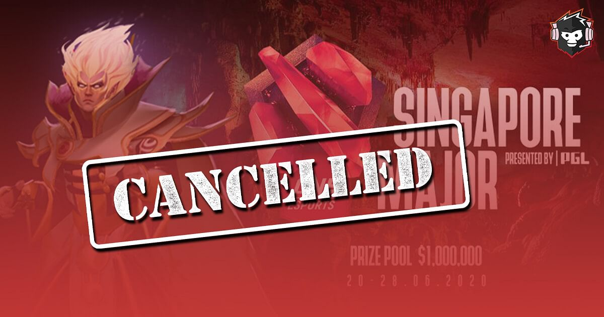PGL Officially Announces the Cancellation of the ONE Esports Singapore Major 2020