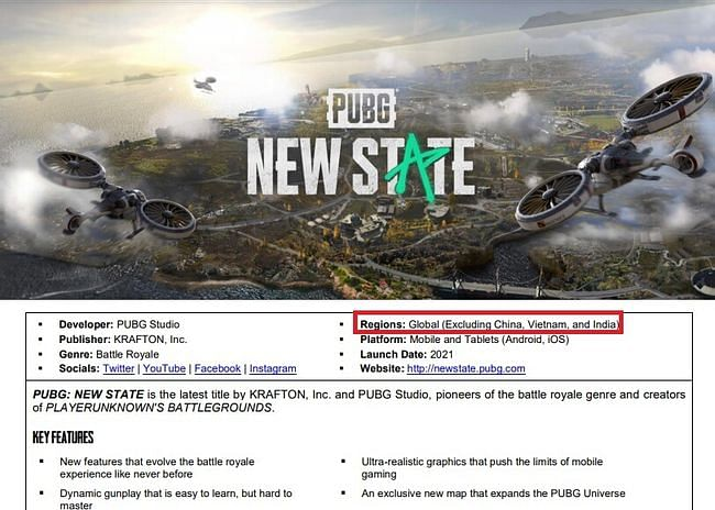 Will PUBG New State Come to India? Here's What We Know So Far