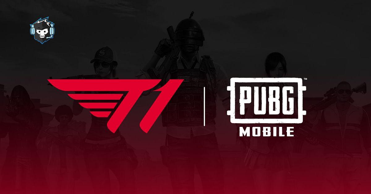 South Korean Organization T1 Pick Up PUBG MOBILE Roster