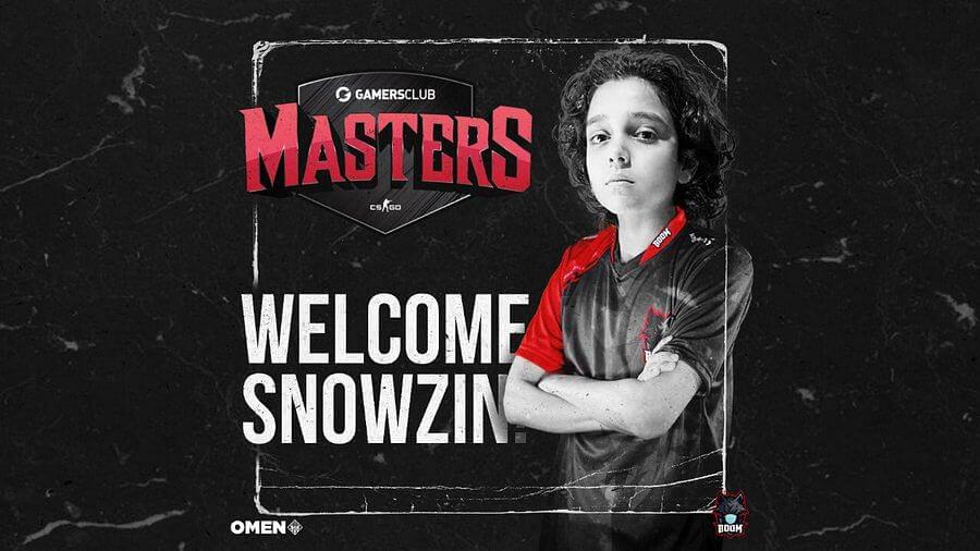BOOM Esports Signs 13-Year-Old Brazilian Prodigy Snowzin