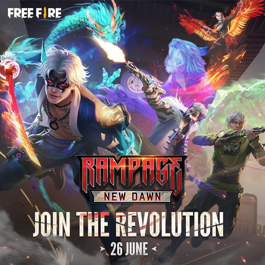 Free Fire Announces Third Edition of Rampage Campaign 'New Dawn': Complete Details