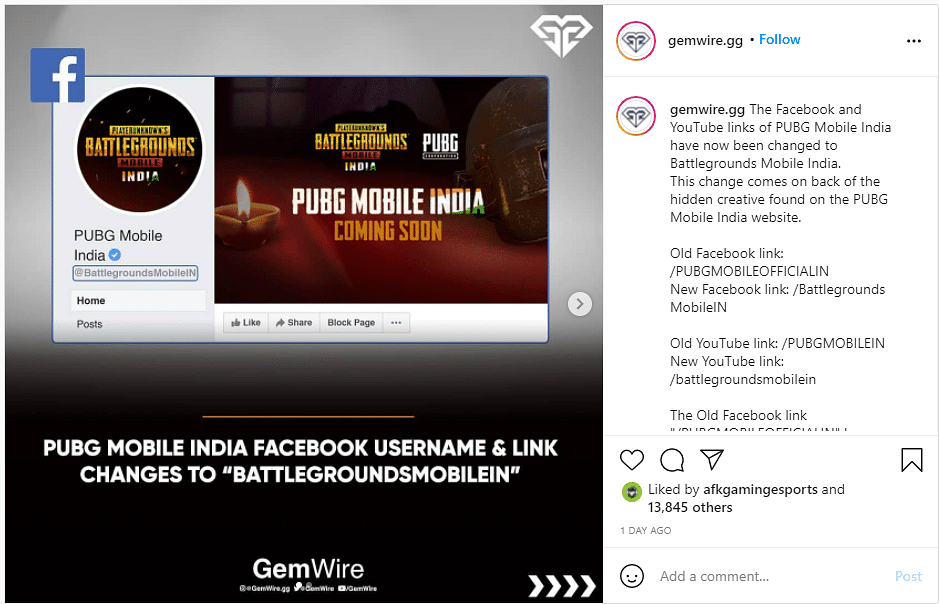 PUBG Mobile India's Social Media Accounts Temporarily Renamed and Removed