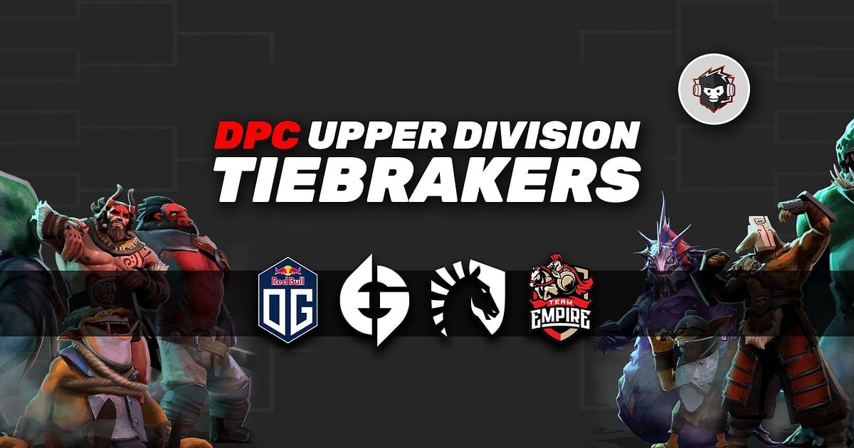 2021 DPC S1 Upper Division Tiebreakers: EU, NA, SEA, CIS and SA Full Details