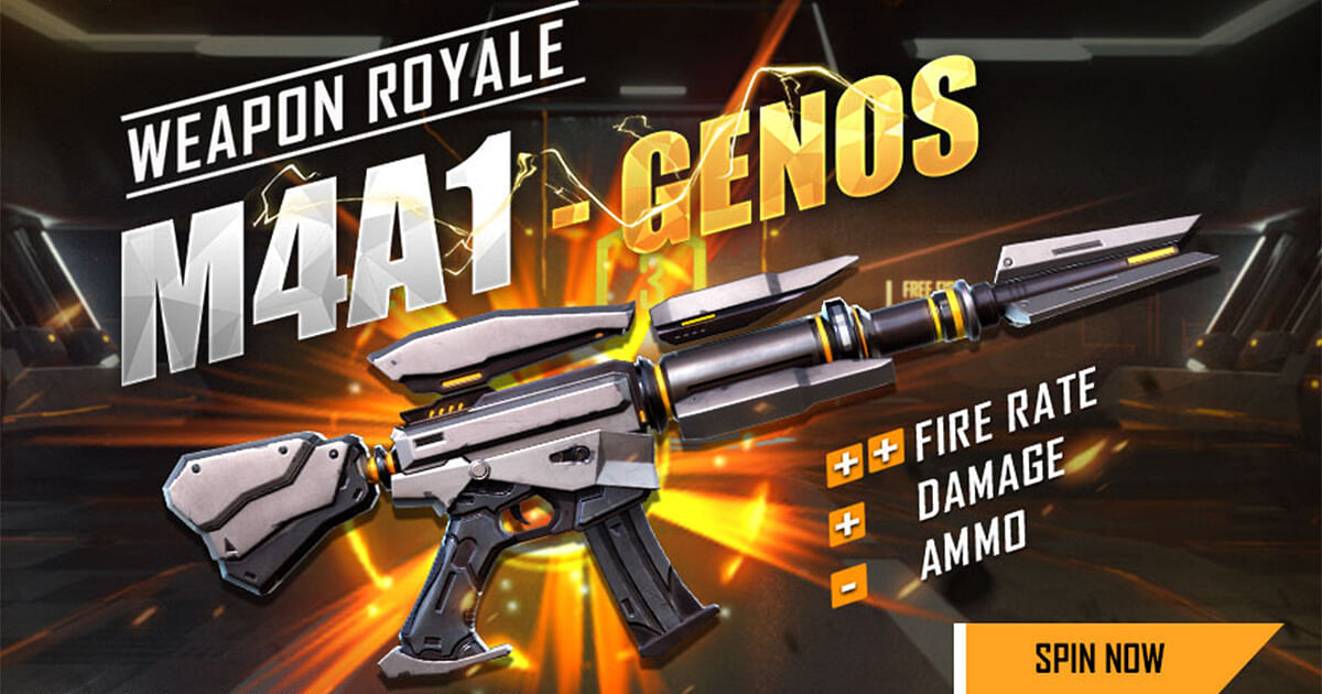 How to get M4A1 - Genos in Free Fire
