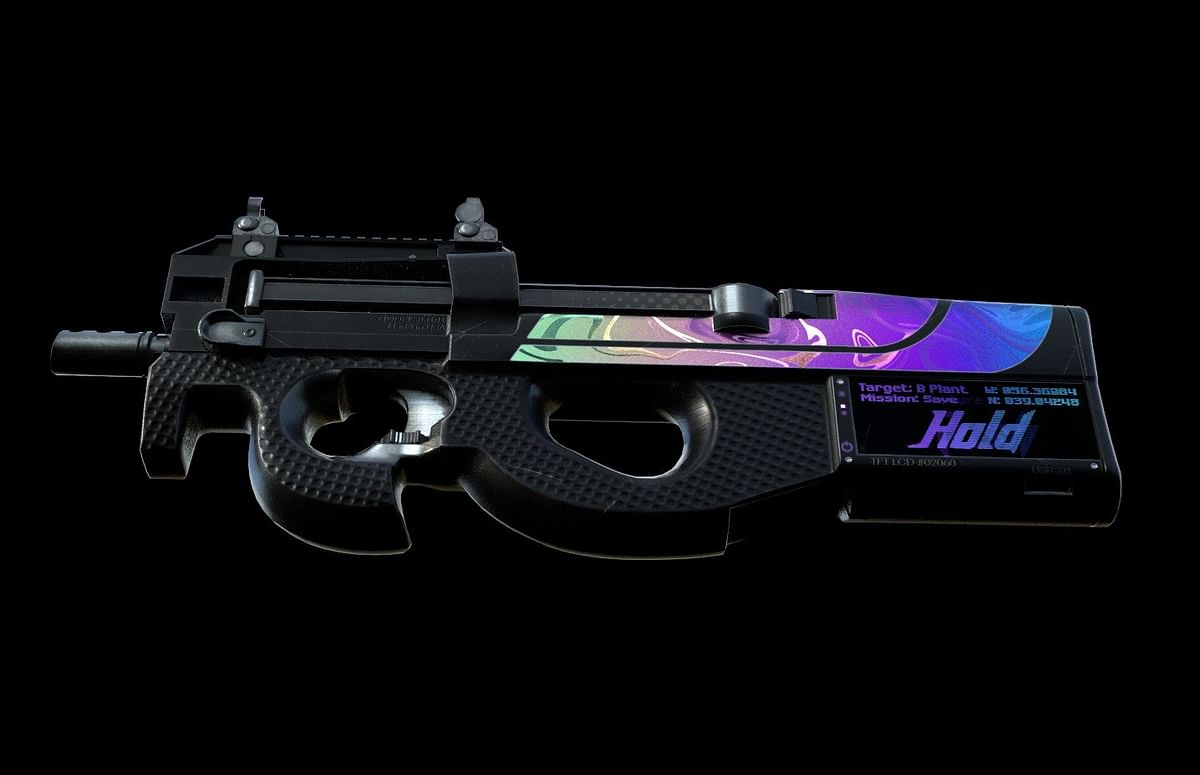 CS:GO Weapon Skin That Changes Both Colour And Texture
